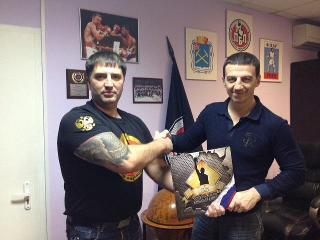 Александр Колесников в гостях у Подольской бойцовской Лиги (1)