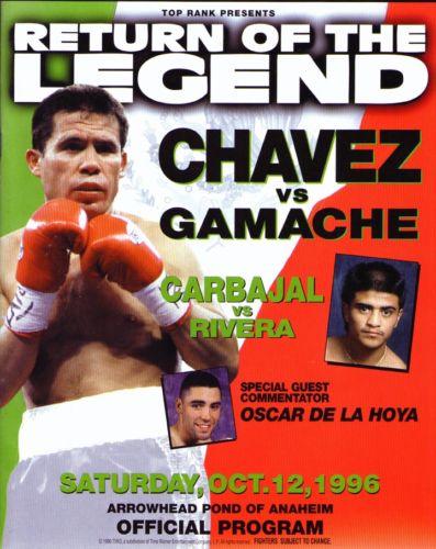 Бокс в этот день: Кровавая рубка в бою Хулио Сезар Чавес - Джо Камаче (1)
