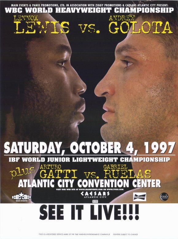 Бокс в этот день: Как Леннокс Льюис уничтожил Голоту (1)