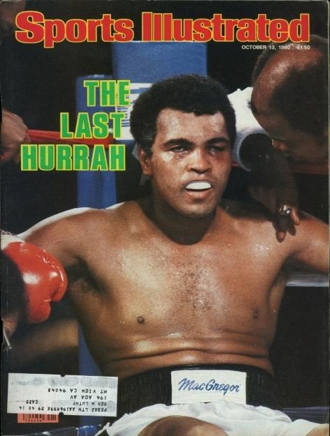 Бокс в этот день: Как Ларри Холмс побил Мохаммеда Али (1)