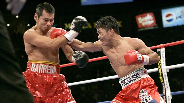 Бокс в этот день: Реванш Мэнни Пакьяо - Марко Антонио Баррейра (2)
