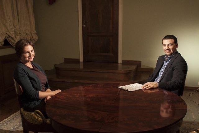 Анна Банщикова в передаче «Боксер и Звезда»: Не надо долго думать, я за Поветкина! (2)