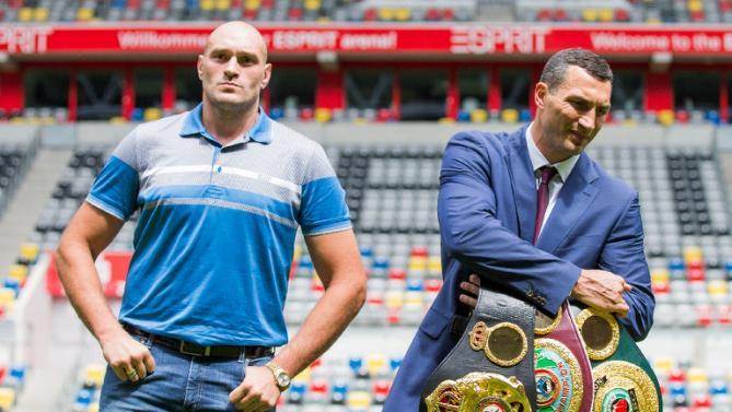 Тайсон Фьюри: Бог не допустит, чтобы Кличко победил меня (1)