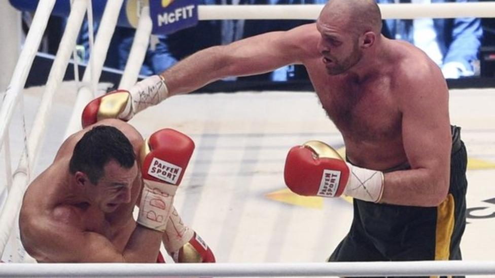 Тайсон Фьюри сенсационно победил Владимира Кличко (1)