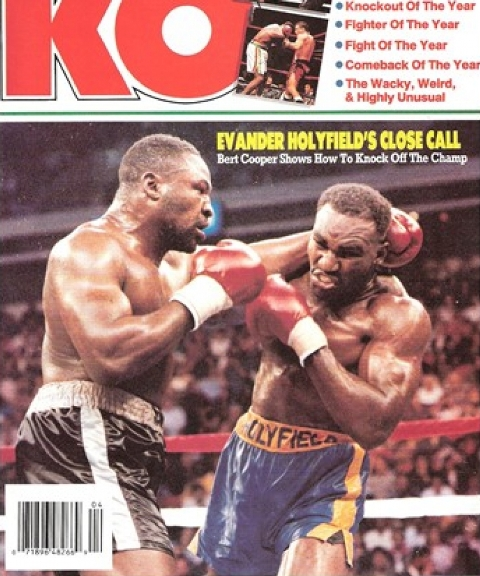 Бокс в этот день: Как Эвандер Холифилд избил Берта Купера (1)