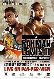 Бокс в этот день: Как Леннокс Льюис вновь стал чемпионом Мира WBC (1)