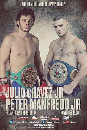 Бокс в этот день: Как Хулио Сезар Чавес младший нокаутировал Питера Манфредо (1)