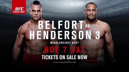 Прямая трансляция UFC Fight Night 77: Дэн Хендерсон - Витор Белфорт III (1)