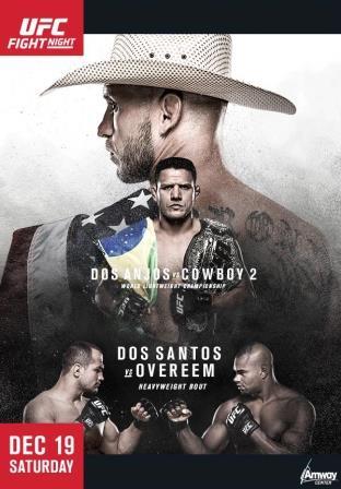 Прямая трансляция UFC on Fox 17: Аньос - Серроне, Дос Сантос - Оверим (1)