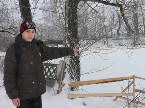 Боксер-шестиклассник спас мужчину, который провалился под лед (2)