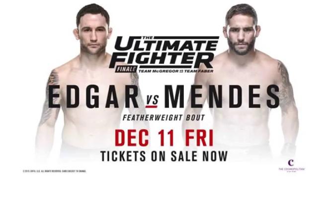 Прямая трансляция UFC The Ultimate Fighter 22 Finale: Фрэнки Эдгар - Чед Мендес (1)
