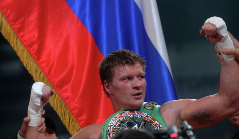 Александр Поветкин получил премию «Возвращение года» от WBC (1)