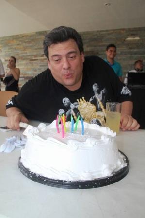 Маурисио Сулейман отпраздновал свой день рождения с Геннадием Головкиным (1)