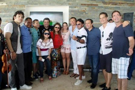 Маурисио Сулейман отпраздновал свой день рождения с Геннадием Головкиным (2)