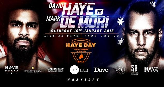 Прямая трансляция: Дэвид Хэй – Марк Де Мори (1)