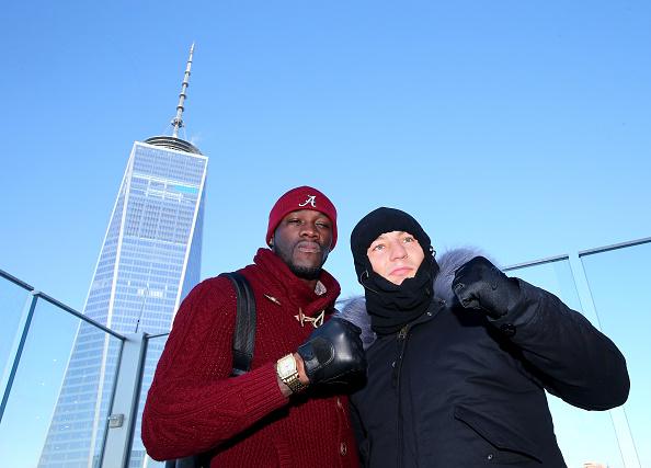 Деонтей Уайлдер и Артур Шпилька чуть не подрались в небоскребе (2)