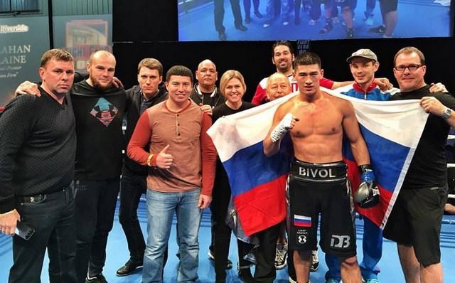 Дмитрий Бивол и Сергей Кузьмин побеждают в США (1)