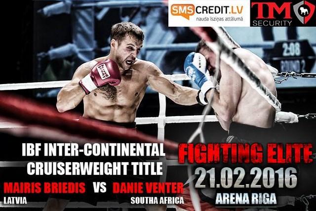 Бойцовский турнир Fighting Elite в Риге: Майрис Бриедис, Сергей Екимов и Асланбек Козаев (5)