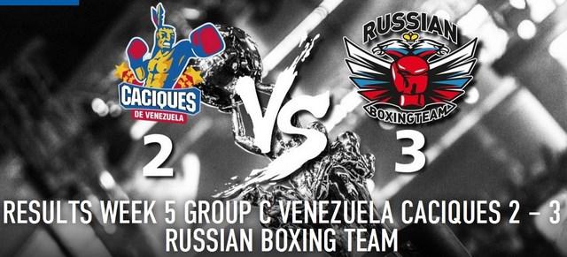 WSB: Сборная России победила сборную Венесуэлы (1)
