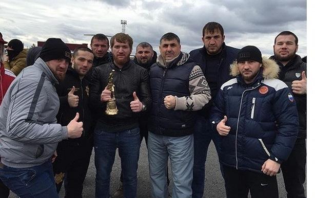 Глава Чечни, Рамзан Кадыров, поздравил клуб «Ахмат» с победой на церемонии «Звезда бокса» (7)