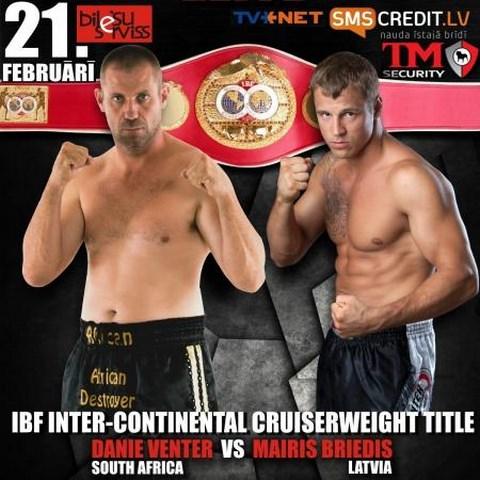 Майрис Бриедис завоевал титул IBF Inter-Continental в тяжелом весе (1)