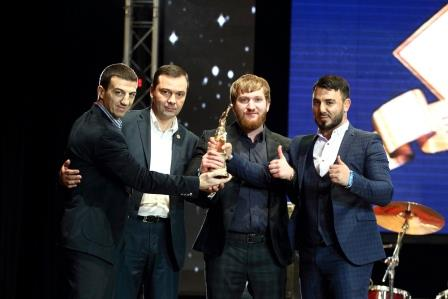 Глава Чечни, Рамзан Кадыров, поздравил клуб «Ахмат» с победой на церемонии «Звезда бокса» (1)