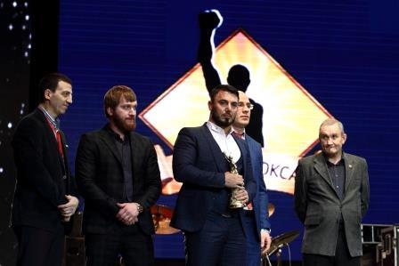 Глава Чечни, Рамзан Кадыров, поздравил клуб «Ахмат» с победой на церемонии «Звезда бокса» (3)