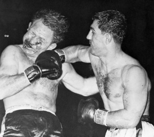 Бокс в этот день: Как Рокки Марчиано отправил на пенсию бойца со 140 боями (1)