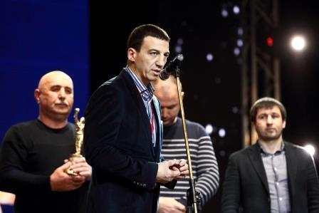 """Магомед Абдусаламов награжден на Национальной премии """"Звезда бокса"""" (10)"""