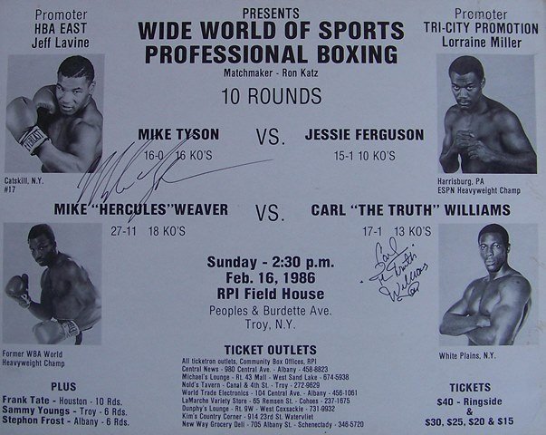 Бокс в этот день: Как Джесси Фергюсон отказался драться с 19-летним Тайсоном (1)