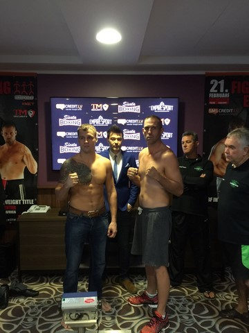 Майрис Бриедис, Сергей Екимов, Сергей Шигаев и Асланбек Козаев сделали вес (2)