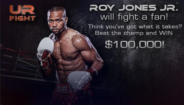 Рой Джонс младший подерется с любым болельщиком за 100 тысяч долларов (1)
