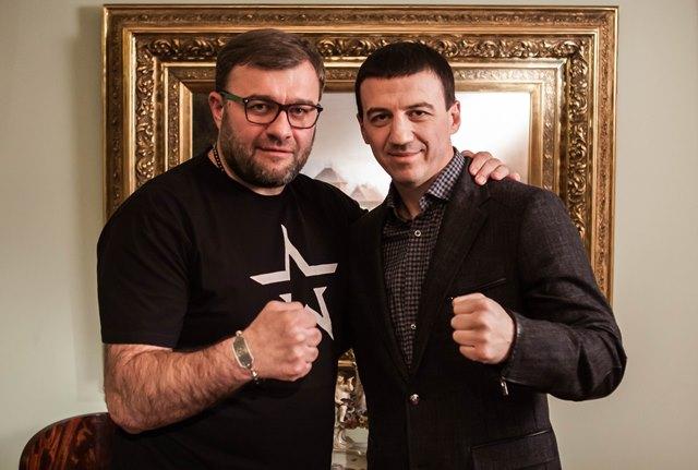 Михаил Пореченков и Александр Колесников