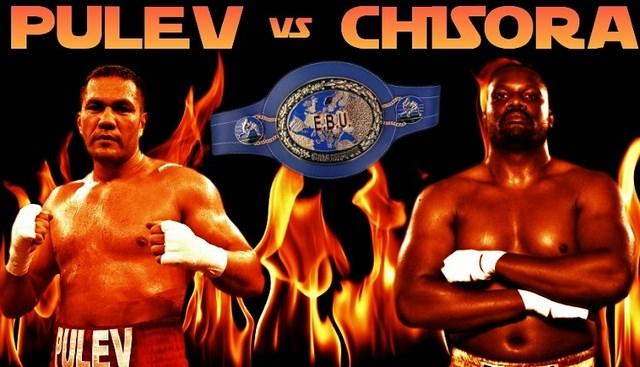 Дерек Чисора и Курбат Пулев разыграют титул чемпиона Европы EBU в супертяжелом весе (1)