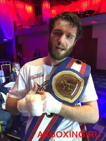 Арам Амирханян победил Рахмонова и стал чемпионом России (1)