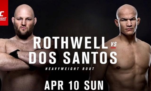 Прямая транляция UFC Fight Night 86: Джуниор Дос Сантос - Бен Ротвелл (1)