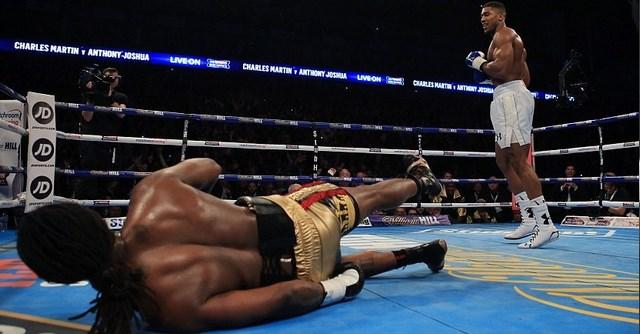 Энтони Джошуа отобрал титул чемпиона Мира IBF у Чарльза Мартина (1)