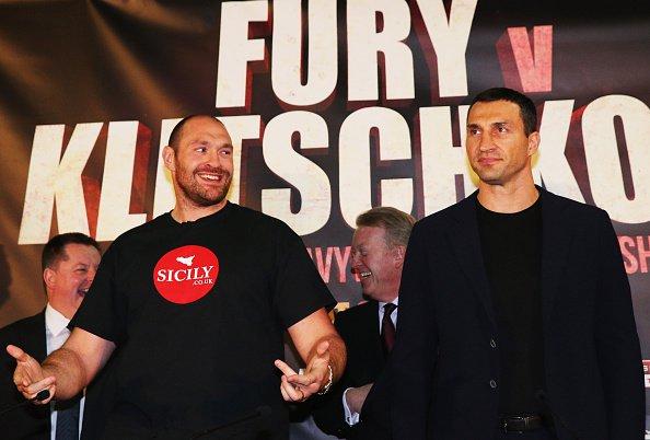 Владимир Кличко обматерил Тайсона Фьюри перед реваншем (1)