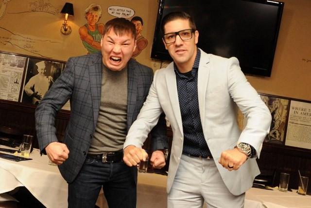 Руслан Проводников и Джон Молина пообещали разобраться без судей (2)