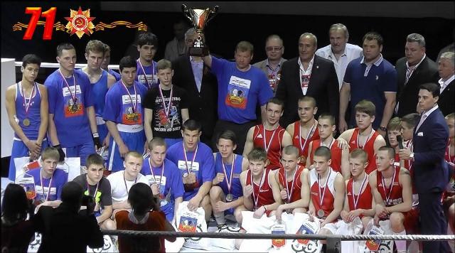 Боксёры России и Белоруссии провели матчевую встречу (1)