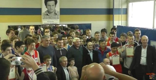 """В спортивном клубе """"Лионозово"""" состоялся боксерский турнир (1)"""