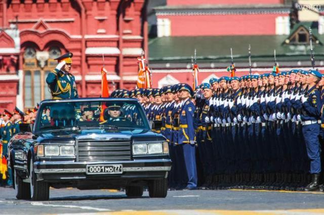 В Москве состоялся 71-й военный парад в честь Дня Победы! (2)