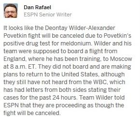 Деонтей Уайлдер и его команда не сели в самолет на Москву (2)