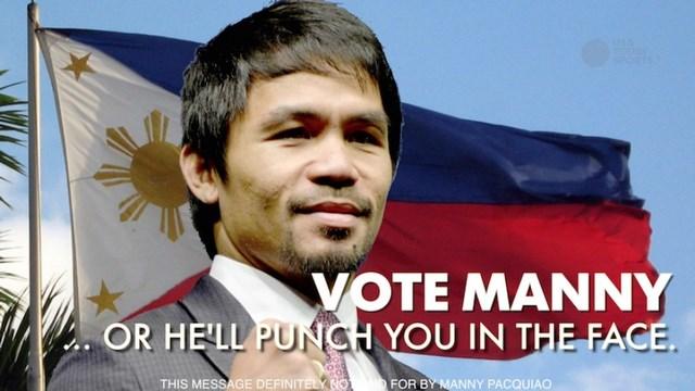 Мэнни Пакьяо завоевал место в Сенате Филиппин (1)