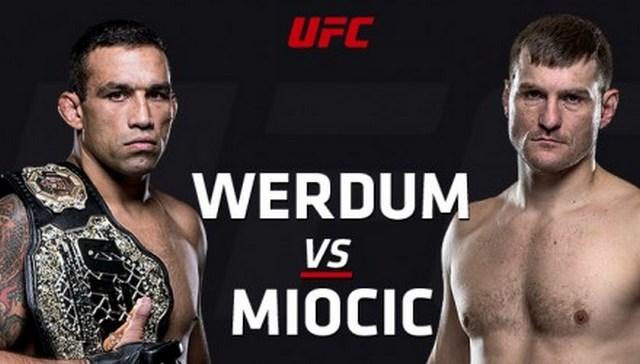 Прямая трансляция UFC 198: Фабрисио Вердум - Стипе Миочич (1)