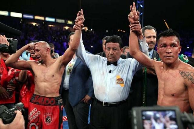 Франсиско Варгас и Орландо Салидо устроили настоящую битву в ринге (2)