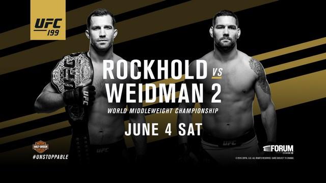 Прямая трансляция UFC 199: Люк Рокхолд - Майкл Биспинг, Доминик Крус - Юрайя Фэйбер (1)