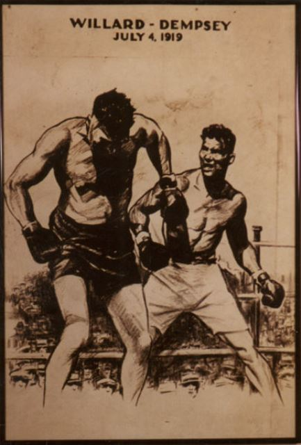 Jack Dempsey vs Jess Willard