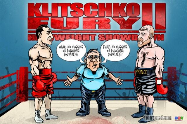 Тайсон Фьюри и Владимир Кличко проведут матч-реванш 29 октября (1)