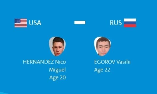Олимпиада в Рио: Василий Егоров – Нико Эрнандес